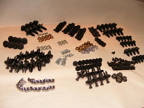 1979 - 1981 Trans Am Exterior Bolt Kit 250 pieces HUGE Time Saver!