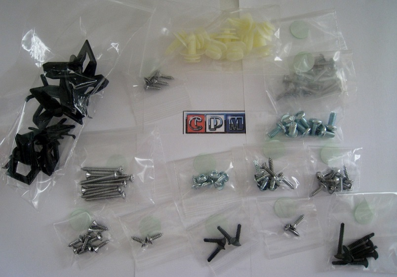 1981 - 1988 Monte Carlo, Cutlass, G body Interior Screw Kit