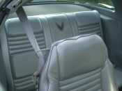 10th Anniversary Trans Am Seat Upholstery