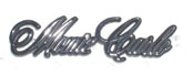 1970 - 1971 Monte Carlo Rear Emblem NEW!
