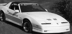 1989 Trans Am Official Pace Car Door Decals