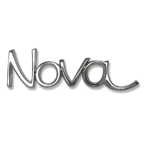 1968 - 1972 Nova Front Fender Emblems NEW GM authorized reproduction!