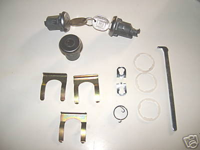 1979 1980 1981 Trans Am Door and Trunk Lock Set NEW!