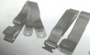 1970 - 1974 Dodge Challenger A. B, C and E Body  Seat Belt Set NEW!