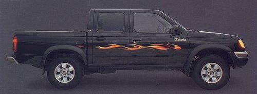 1960 - 2009 Full Size Truck Large Flames Decals Colors Available!