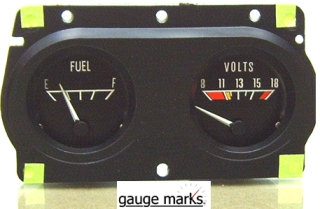 1970 - 1981 Trans Am Gauge Face Inlays 160 MPH 8K