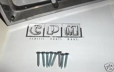 1985 - 1988 Monte Carlo Headlight Bezel Screws