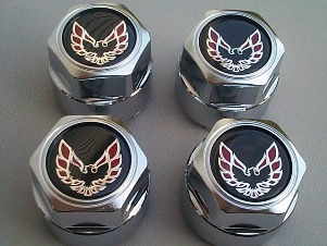 1977 - 1992 Trans Am Red Bird Center Caps