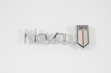 1966 CHEVY II/NOVA GLOVE BOX DOOR EMBLEM NEW!