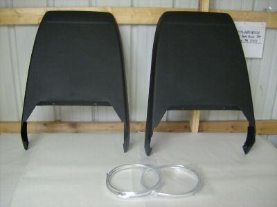 1973 - 1981 Trans Am Deluxe Seat Back Set NEW