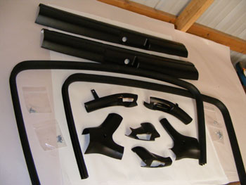 1978-1981 Camaro and Trans Am Fisher T-Top Interior Trim Set NEW COMPLETE 10 Piece